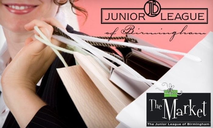 The Market - Overton: $6 for Admission to the Junior League of Birmingham's The Market Holiday Shopping Event on Saturday, October 16 ($12 Value)