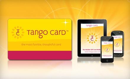 Tango Card - Tango Card in