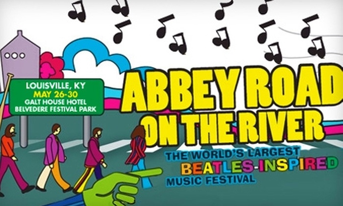 Abbey Road on the River - Central Business District: $35 for a Single-Day Best Ticket to the Abbey Road On The River Music Festival ($74.40 Value)