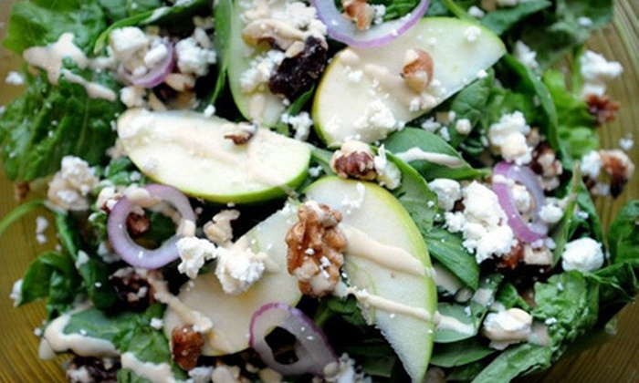 Green Restaurant - Northeast Grand Rapids: $7 for $15 Worth of Organic Fare at Green Restaurant