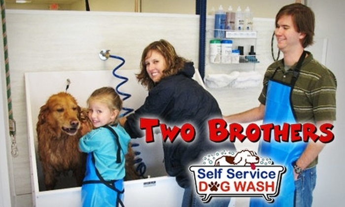 Two brothers self service dog wash in virginia beach virginia groupon two brothers self service dog wash solutioingenieria Gallery