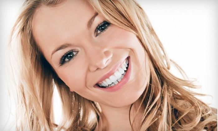Tooth Zone or Adult Upstate Dental Care - Greenville: $99 for Teeth Whitening at the Tooth Zone or Adult Upstate Dental Care ($299 Value)