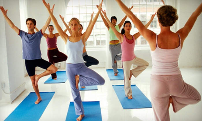 Power Yoga Ocala - Multiple Locations: $35 for 10 Classes at Power Yoga Ocala ($72 Value)