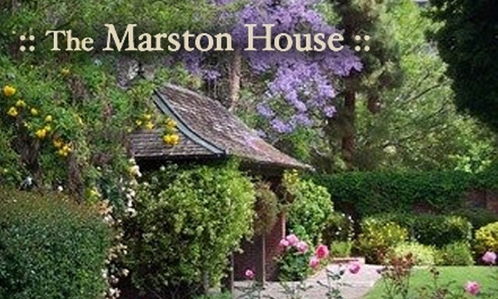 The Marston House Museum & Gardens - Hillcrest: $8 for Two Passes to the Historic Marston House Museum & Gardens
