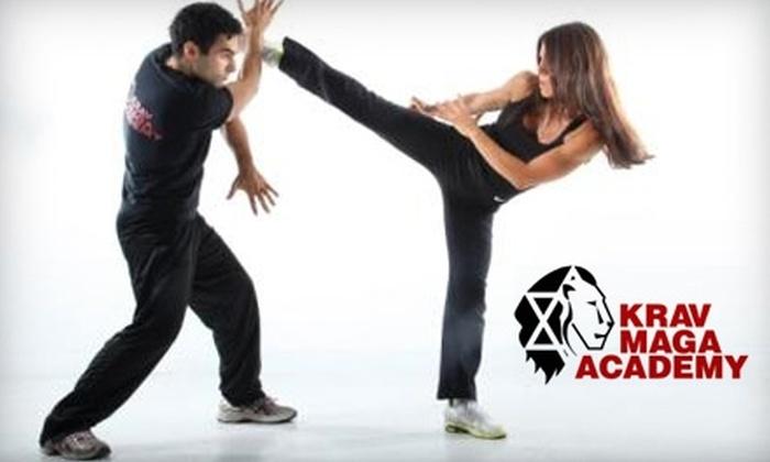 Krav Maga Academy - New York City: $39 for One Month of Unlimited Classes at Krav Maga Academy ($125 Value)