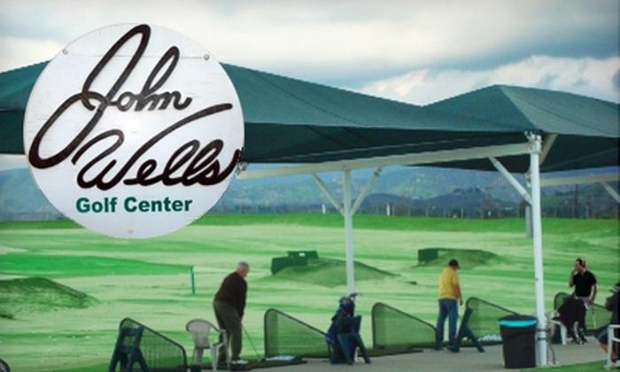 John Wells Golf Center driving range - Sun Valley: $10 for Two Large Buckets of Balls at John Wells Golf Center Driving Range in North Hollywood ($20 Value)