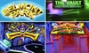 Mission Beach Attractions at Belmont Park - Mission Beach: $6 for 9-Hole Mini-Golf, Unlimited Laser Maze, Mirror Maze, and $5 in Arcade Tokens at Belmont Park
