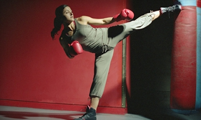 Fife Jiu-Jitsu & Wrestling Club - Fife: One Month of Unlimited Women's or Children's Kickboxing Classes at Fife Jiu-Jitsu & Wrestling Club in Tacoma. Two Options Available.