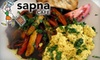 Sapna Cafe - CLOSED - Central City: $7 for $15 Worth of Healthy Seasonal Fare and Drinks at Sapna Cafe