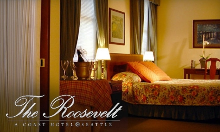 The Roosevelt Hotel - Central Business District: $129 for a Jacuzzi Suite, Restaurant Voucher, and Parking at The Roosevelt Hotel ($265 Value)