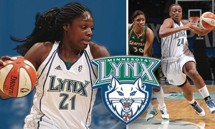 Minnesota Lynx - Warehouse District: Tickets to Minnesota Lynx vs. Washington Mystics WNBA Basketball on Sunday, May 16, at 6 p.m. Four Seating Levels Available.