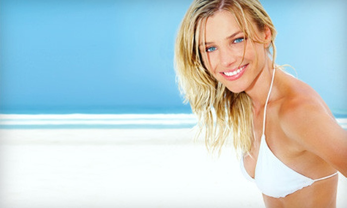 Sempre-Bella - Houston: $59 for a Hollywood Look Package with Airbrush Tanning and Teeth Whitening at Sempre-Bella in Bellaire ($204 Value)