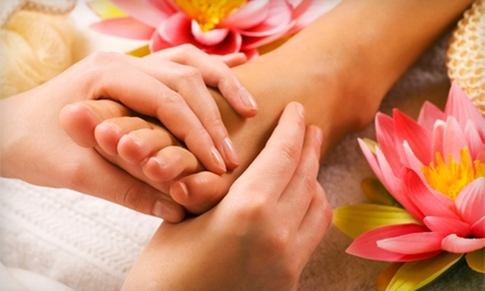 Karma Relaxation Spa - Hillcrest: Spa Package at Karma Relaxation Spa. Two Options Available.