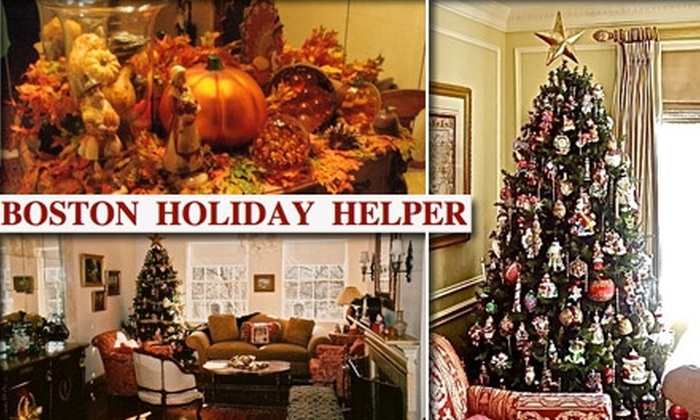 Boston Holiday Helper  - Boston: $185 for Three Hours of Services from Boston Holiday Helper ($375 Value)