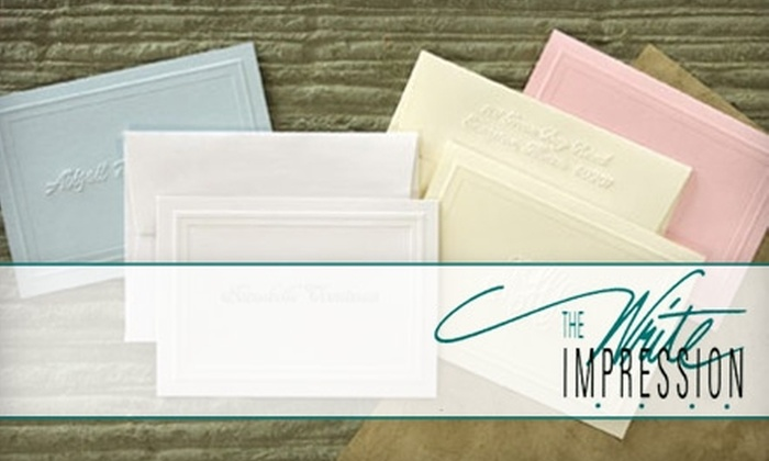 The Write Impression - Ladue: $15 for $35 Worth of Personalized Invitations, Stationery, and More at The Write Impression