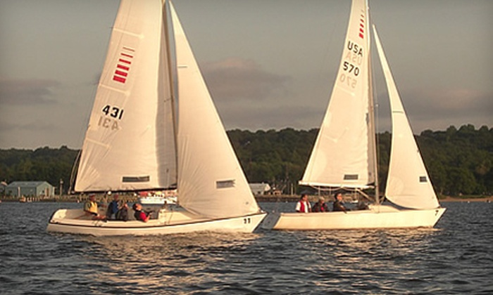 The WaterFront Center - Oyster Bay: Sailing Lessons for Two at The WaterFront Center in Oyster Bay. Three Options Available.