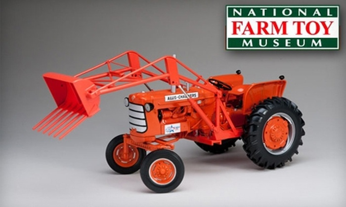 National Farm Toy Museum - Dyersville: $5 for Two Adult Admission Tickets ($10 Value) Or $4 for Two Senior Admission Tickets ($8 Value) to the National Farm Toy Museum in Dyersville