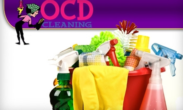 OCD Cleaning - Woonsocket: $75 for Three Hours of House-Cleaning Services from OCD Cleaning ($175 Value)