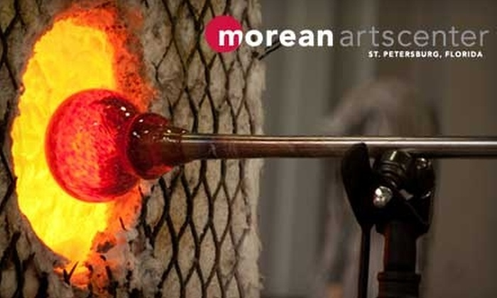 Morean Arts Center - Downtown St. Petersburg: $4 for Adult Admission to an Interactive Glass Blowing Demonstration at Morean Arts Center ($8 Value)