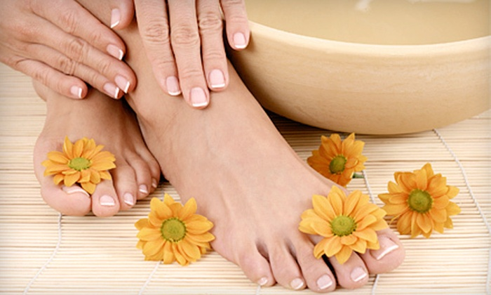 Island Day Spa - The Island: One or Two Signature Mani-Pedis at Island Day Spa (Up to 68% Off)
