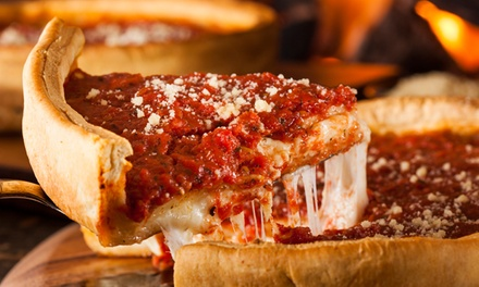 $12 for One Two-Topping Pizza at The Godmother's Chicago Pizza & Catering ($22 Value)
