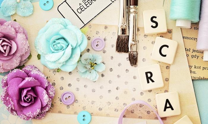 Scraps Etc Ohio - Cherry Grove: Arts and Crafts Classes or Arts and Crafts Merchandise at Scraps Etc Ohio (Up to 52% Off)