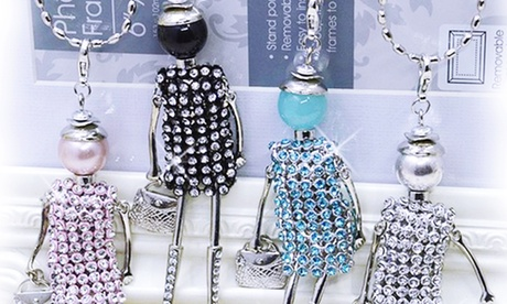 Collana Dolls con SWAROVSKI ELEMENTS. Vari colori disponibili
