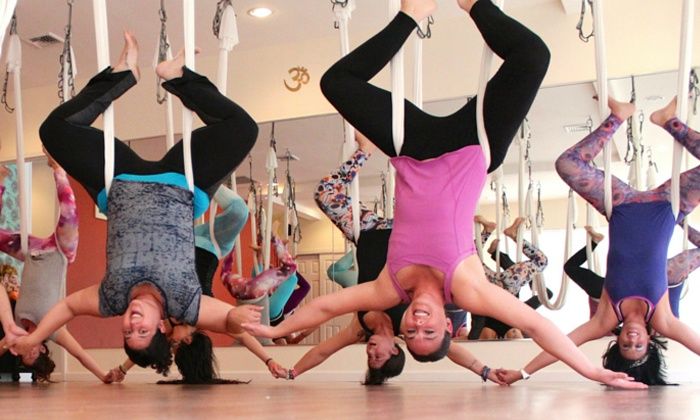 Emerge Yoga & Wellness - Bellmore: AntiGravity or Traditional Yoga Classes for Kids or Adults at Emerge Yoga & Wellness (Up to 61% Off)