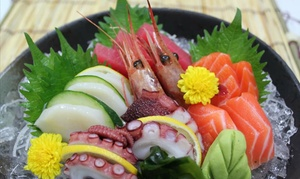 Mori Japanese Restaurant: Chef's Omakase Sushi and Sashimi Dinner for Two or Four at Mori Japanese Restaurant