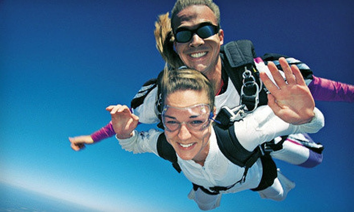 Skydive Canyonlands - Moab: Tandem Skydiving Jump for One or Two from Skydive Canyonlands (Up to 56% Off)