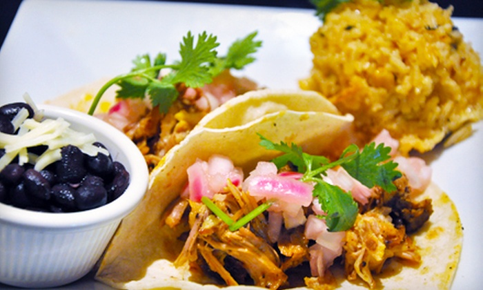 Latin Bistro Express - Multiple Locations: $5 for $10 Worth of Burritos, Tacos, and Mexican Eats at Latin Bistro Express
