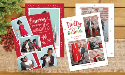 Professional Photo Shoot with 24, 36, or 60 Holiday Photo Cards at Target Portrait Studio (Up to 81% Off)
