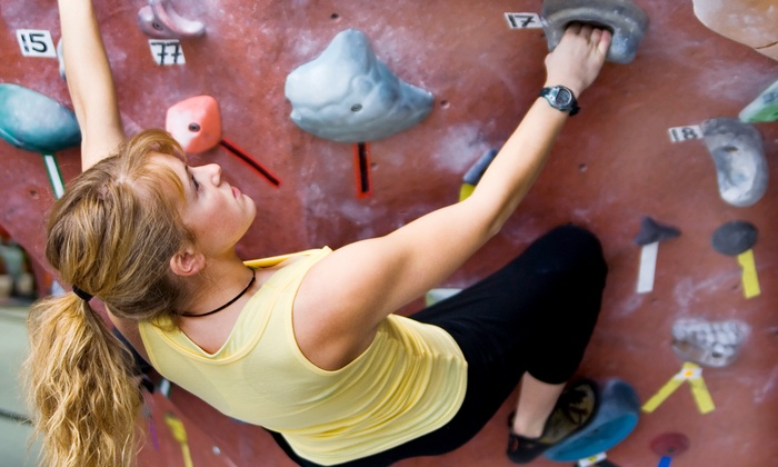 Coastal Climbing - Westside: Three- or Five-Day Rock-Climbing Pass or One Month of Unlimited Climbing at Coastal Climbing (Up to 51% Off)