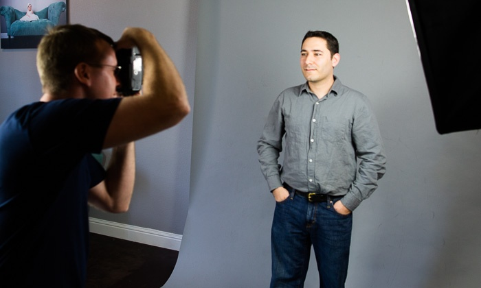 Studio Z - Windsor: 15-, 25-, or 45-Minute In-Studio Headshot Photo Shoot with Digital Images at Studio Z (Up to 82% Off)