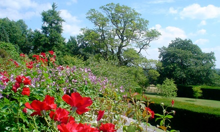 Entry for One, Two or Four to Milton Lodge Gardens