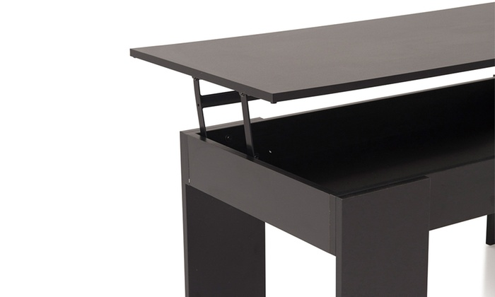 Table basse plateau relevable up groupon shopping - Table basse escamotable stand up ...