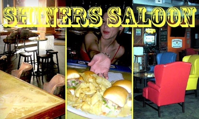 Shiner's Saloon - Downtown: $15 for $30 Worth of Pub Fare and Live Entertainment at Shiner's Saloon