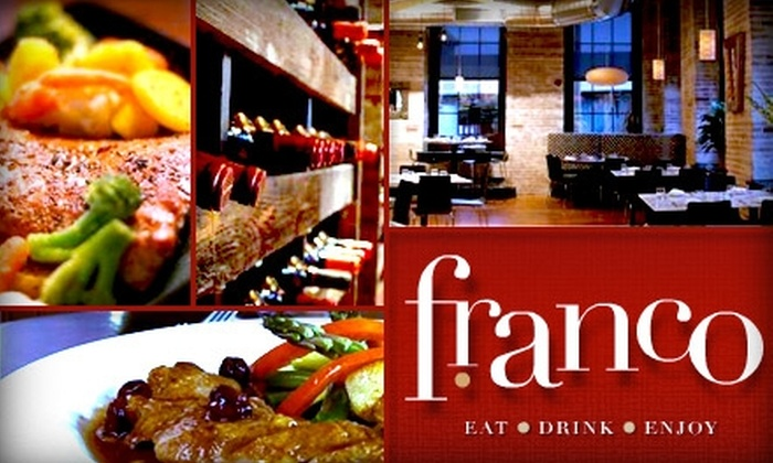 Franco - Soulard: $18 for $40 Worth of French Cuisine and Drinks at Franco