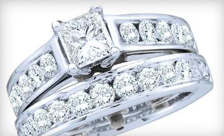 14-Carat White-Gold One-Carat Diamond Ring - Shirin Diamond Center in Houston