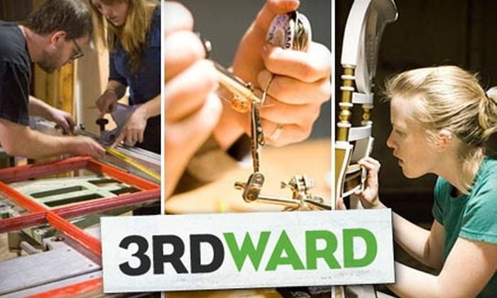 3rd Ward - Williamsburg: $49 for $100 Toward Any Creative Class at 3rd Ward