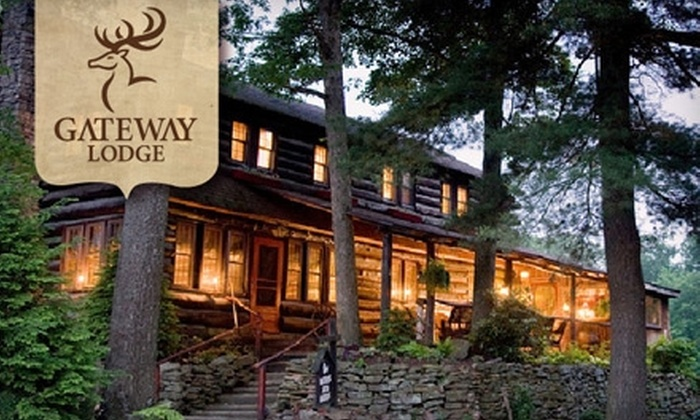 Gateway Lodge Country Inn Resort & Spa - Bell: $99 for a Weekday Night Stay at Gateway Lodge in Cooksburg, PA ($199 Value)