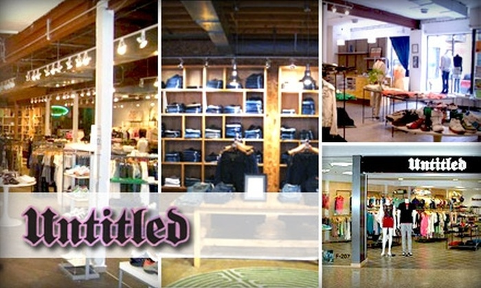 Untitled - Multiple Locations: $60 for $120 Worth of Designer Denim and More at Untitled