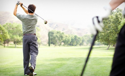 18-Hole Round of Golf for 2 with Cart Rental and a Sleeve of Balls for Each Player - Bear Creek Golf Club in Monroe