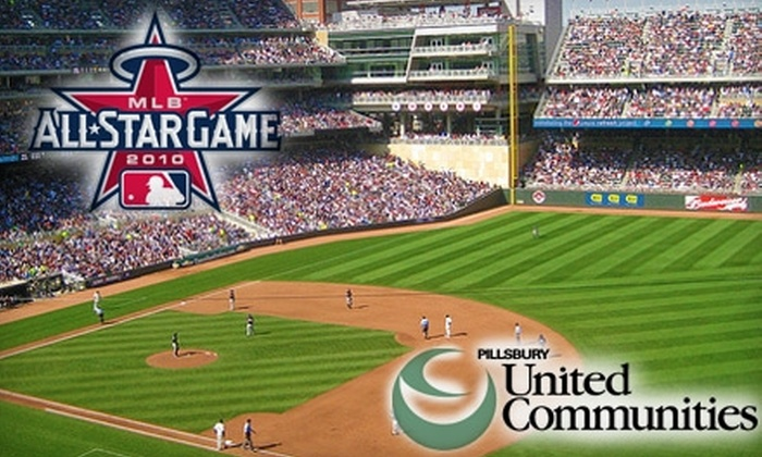 Home Field Advantage - North Loop: $40 Ticket to an Exclusive Major League Baseball All-Star Game Charity Viewing Party at Target Field