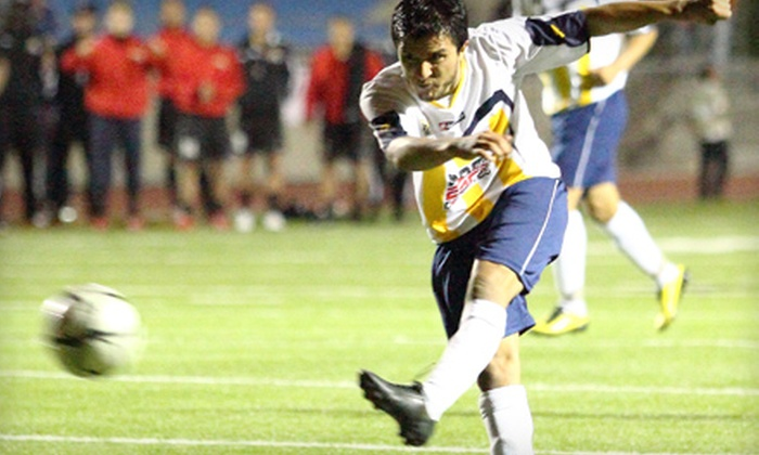 San Diego Boca FC - Multiple Locations: $18 for Family Tickets to San Diego Boca FC Versus CD Chivas Guadalajara U-20 Soccer Game on December 8 ($36 Value)