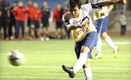 San Diego Boca FC vs. CD Chivas Guadalajara U-20 on Thurs., Dec. 8 at 7:30PM: General Admission - San Diego Boca FC in