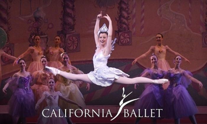 "California Ballet - Core-Columbia: Tickets to ""The Nutcracker"" Presented by California Ballet. Four Shows Available."