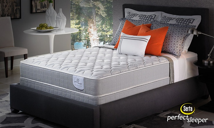 Serta Perfect Sleeper Cushion Firm or Plush Mattress Sets: Serta Perfect Sleeper Mattress Sets From $499.99–$899.99. Free White Glove Delivery. 20-Year Warranty.
