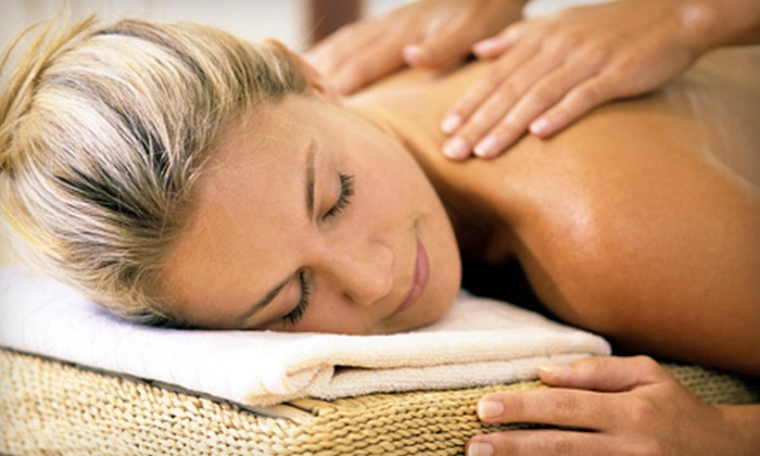Elan Designs - Cranston: $119 for a Spa Package with Massage, Facial, and Pedicure at Elan Designs in Cranston (Up to 51% Off)