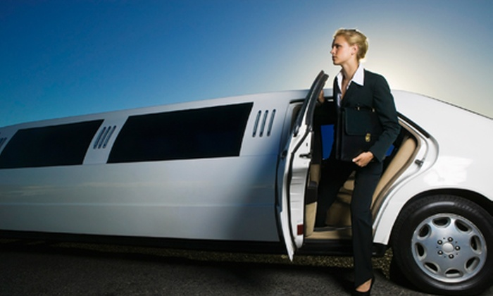 All Stretched Out Limousine Service - 1: BWI or Reagan National Airport Town Car or Limo Service or Three-Hour Limo Rental (Up to 65% Off). Three Options Available.